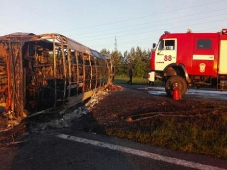 Новые детали жуткого ДТП вТатарстане, где бензовоз столкнулся спассажирским автобусом