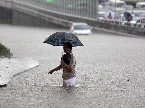 Полмиллиона граждан Китая пострадали отливней инаводнений
