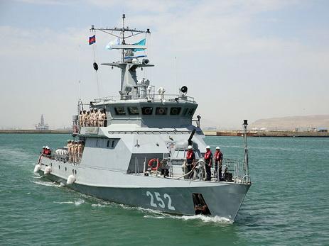 Корабли ВМФ прибыли встолице Азербайджана для участия вконкурсе «Кубок моря»