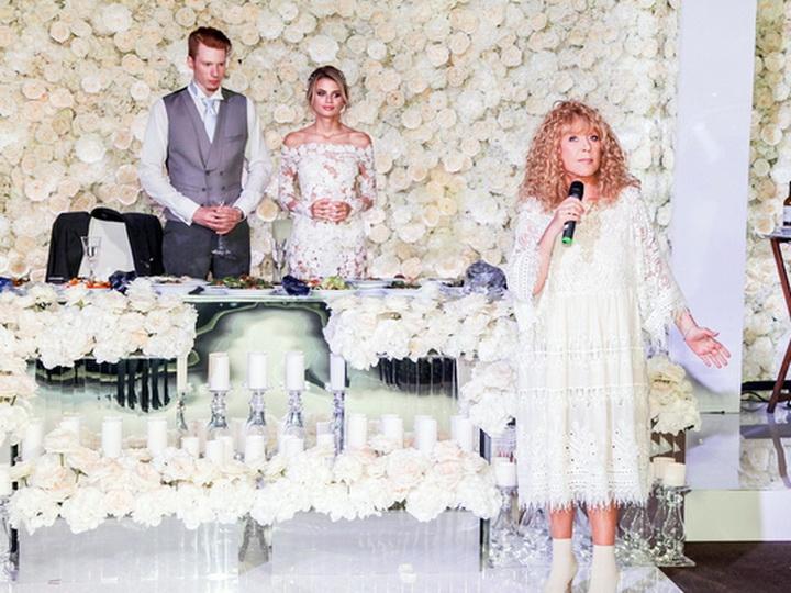 Свадьба аллы пугачёвой внука