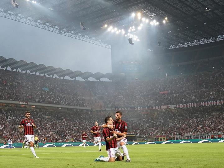 Матч «Милана» установил рекорд посещаемости квалификации Лиги Европы