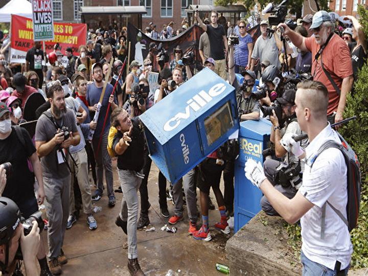 После беспорядков вШарлотсвилле задержали 3-х человек