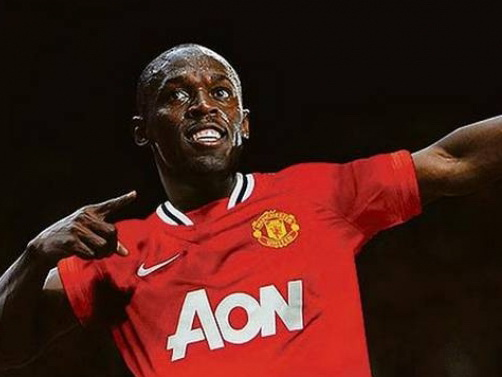 Легендарный ямайский бегун сыграет за«Манчестер Юнайтед»
