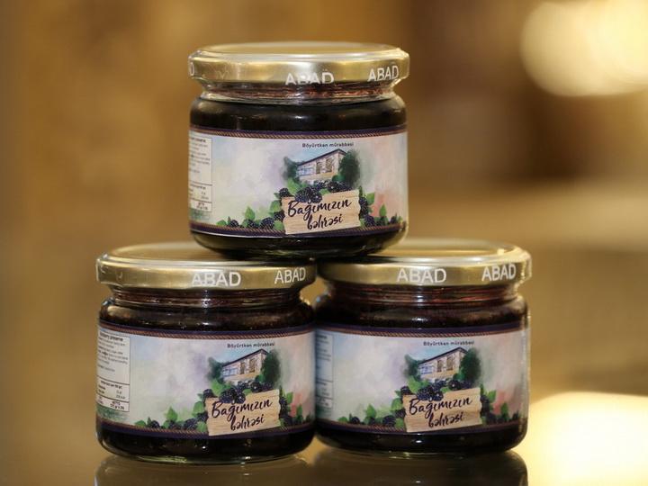 Натуральные варенья местного производства: продукция «ABAD» уже на прилавках Баку – ФОТО