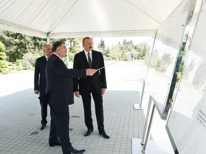 Ильхам Алиев: «Проблема питьевой воды в Азербайджане решается и будет решена основательно» - ФОТО