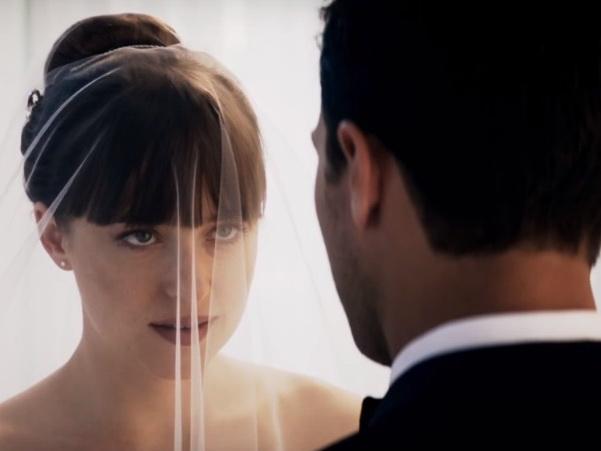 50 оттенков свободы: первые кадры со свадьбы Кристиана Грея и Анастейши Стил – ВИДЕО