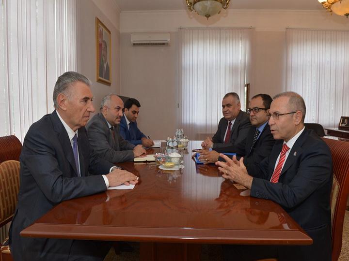 Обсуждены проекты, реализуемые Общественным объединением предпринимателей и промышленников Турции и Азербайджана в связи с Джоджуг Мерджанлы