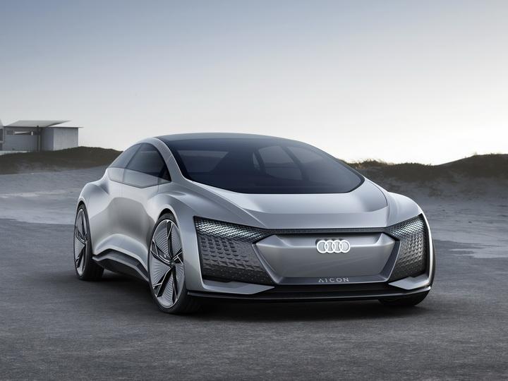 Новый беспилотник Audi Aicon – автомобиль будущего - ФОТО