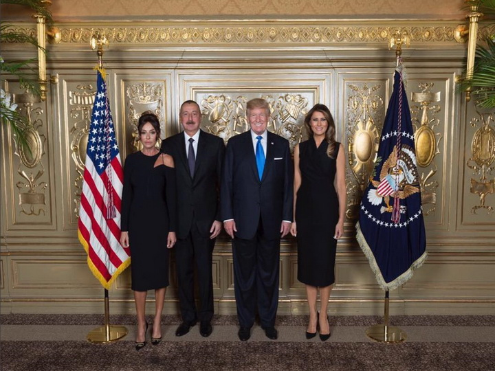 Ильхам Алиев встретился с Дональдом Трампом - ФОТО