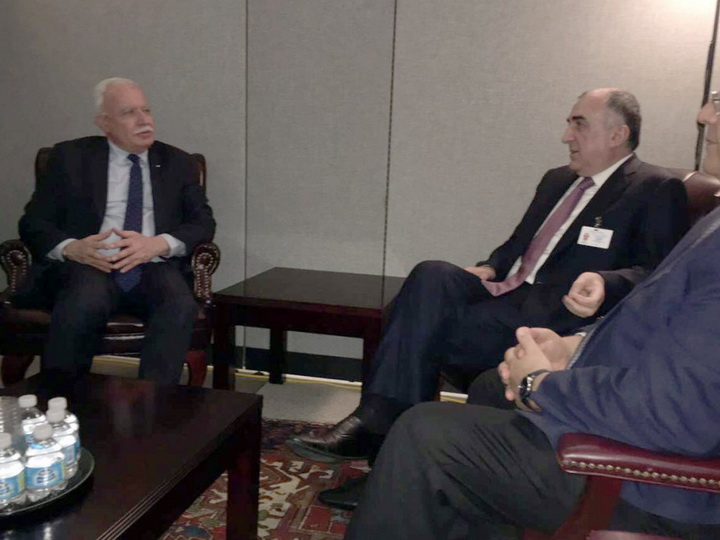 Обсуждены перспективы развития связей между Азербайджаном и Палестиной