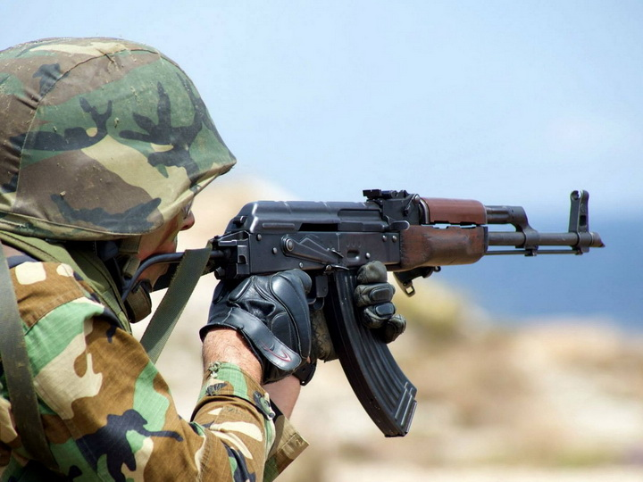 На линии соприкосновения войск наблюдалась относительно спокойная обстановка