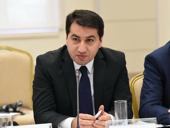 Хикмет Гаджиев: Международно-правовая ответственность за факт оккупации Нагорного Карабаха возлагается на Армению как сторону конфликта