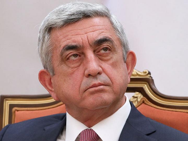 Серж Саргсян объявил, когда готов уйти в отставку