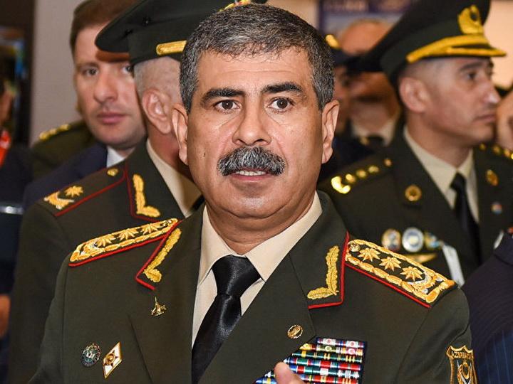 Начался официальный визит министра обороны Азербайджана в Грузию