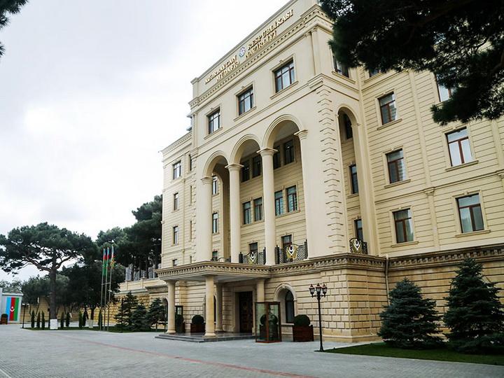 Минобороны: Под контролем подразделений Азербайджана находится вся территория Армении