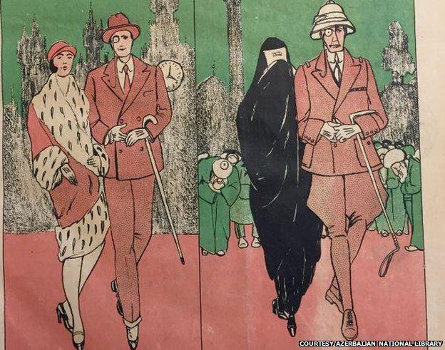 «Молла Насреддин»: Как выглядела азербайджанская сатира задолго до Charlie Hebdo - ФОТО