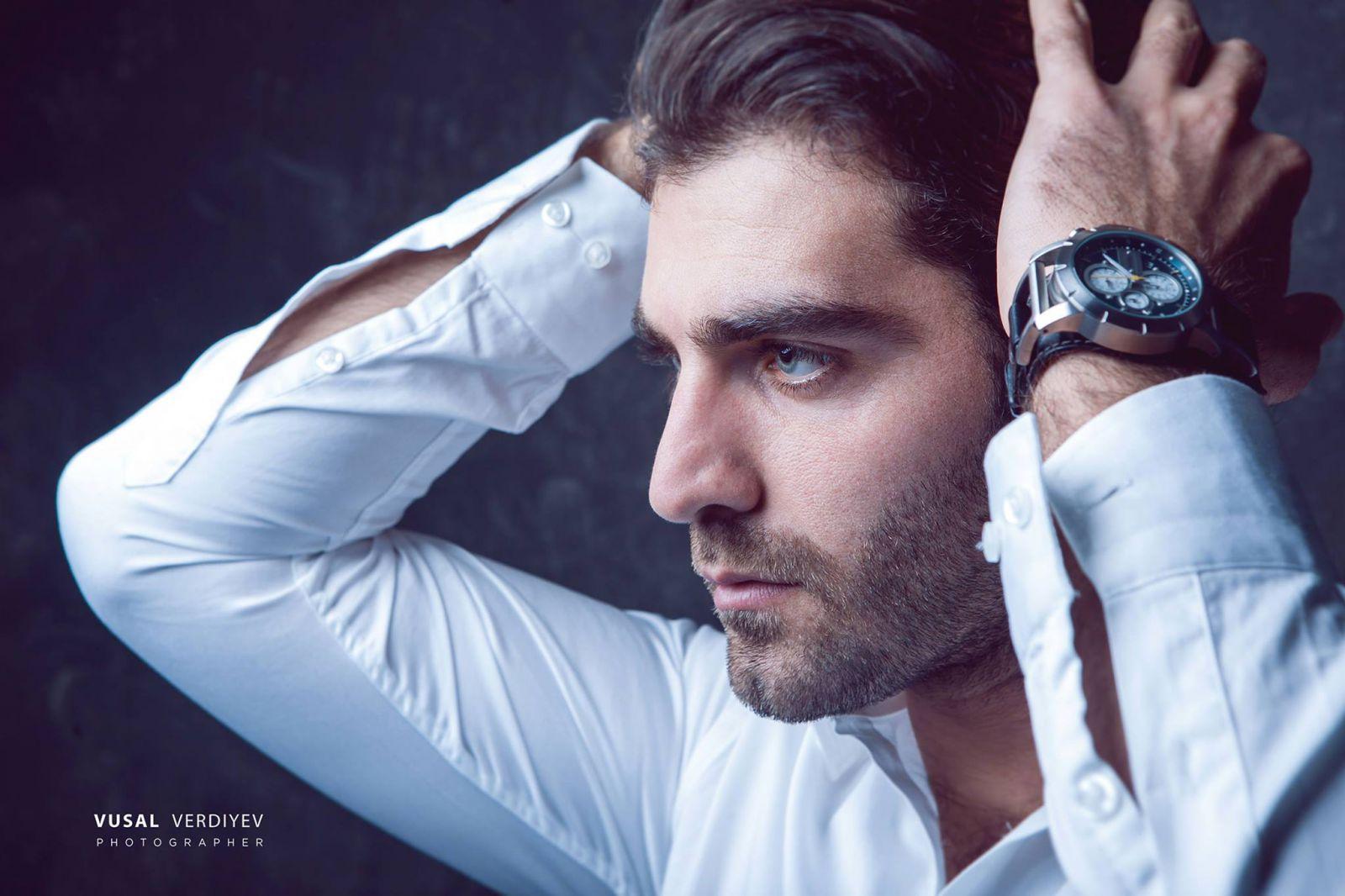 Самая красивая модель - мужчина Азербайджана в объективе ... Модель Мужчина Русский