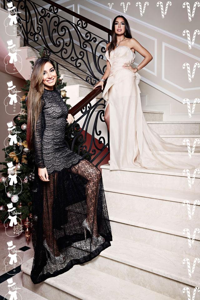 Pin Leyla Aliyeva Arzu Aliyeva Guests At The Baku Magazine Celebration ...