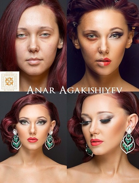 Азербайджанские прически для девушек