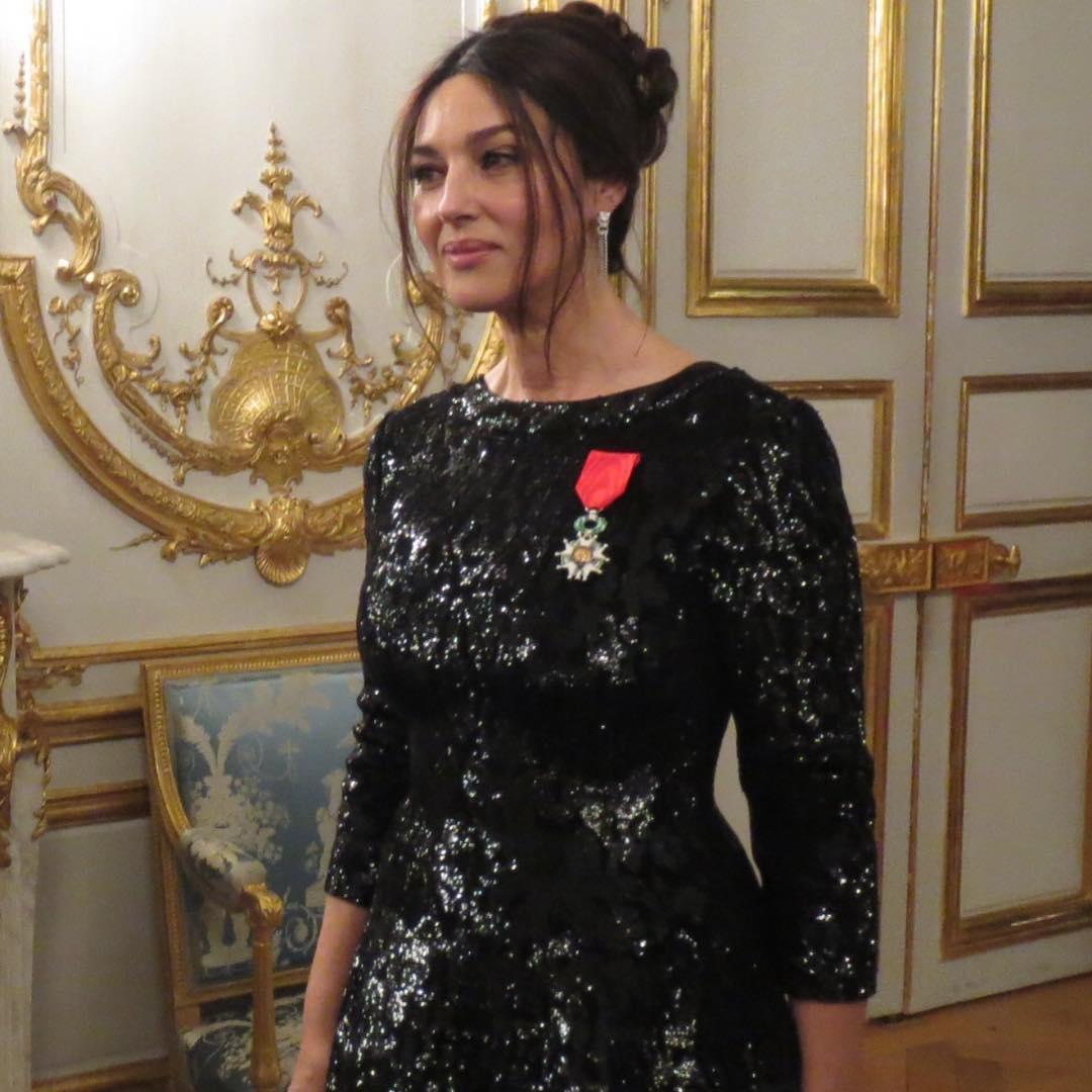Моника Белуччи награждена орденом Почетного легиона