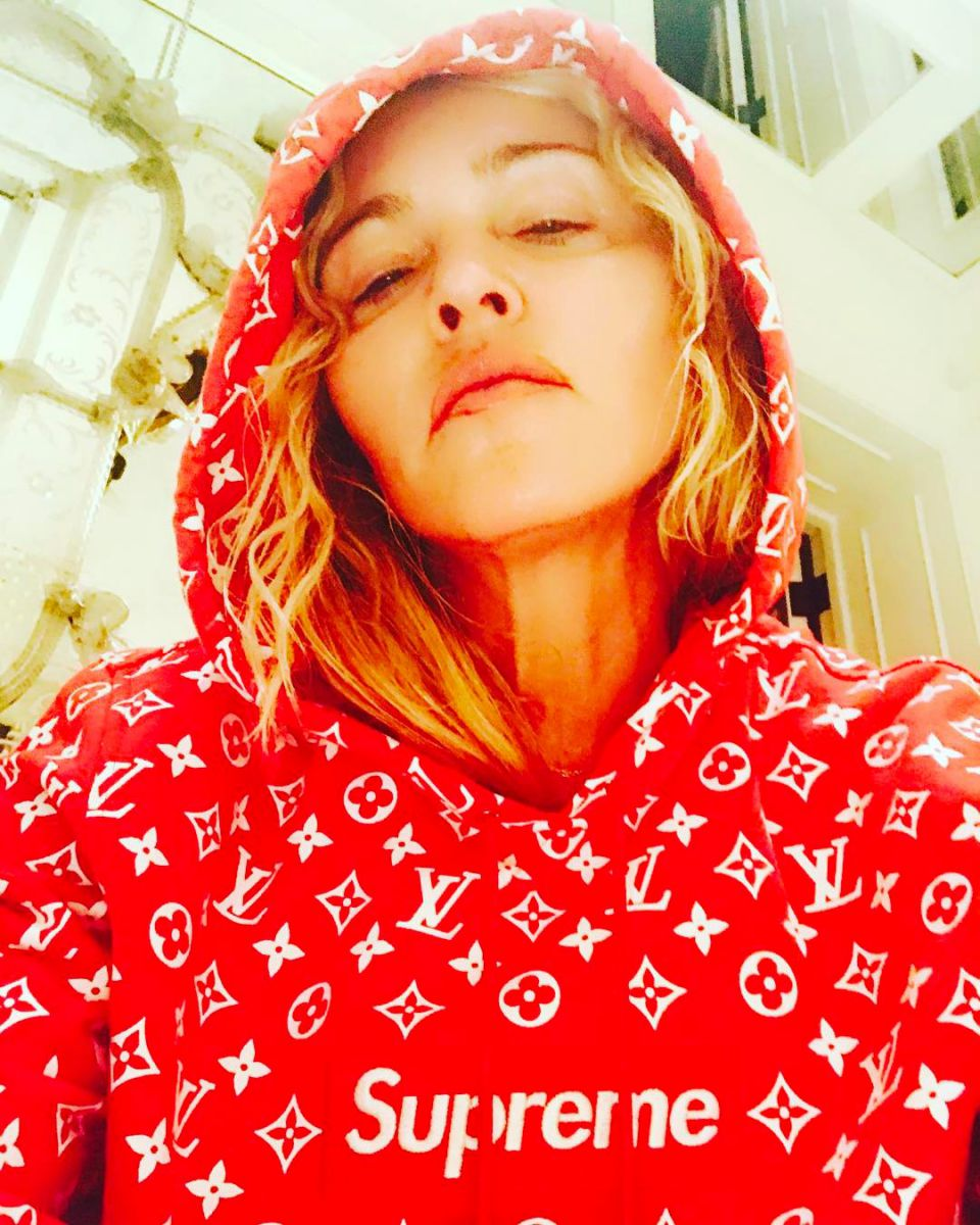 Мадонна без макияжа 2017
