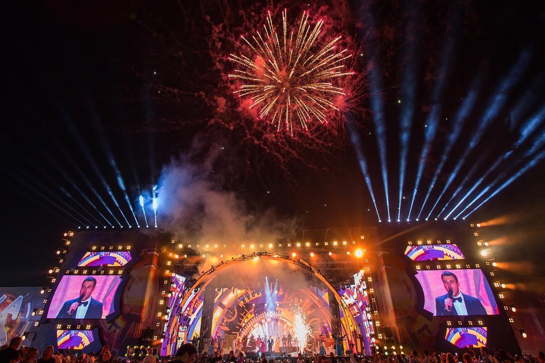Грандиозное открытие фестиваля «Жара-2017»