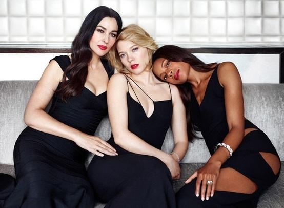 Три девушки Бонда снялись в совместной фотосессии – ФОТО | 1news ...
