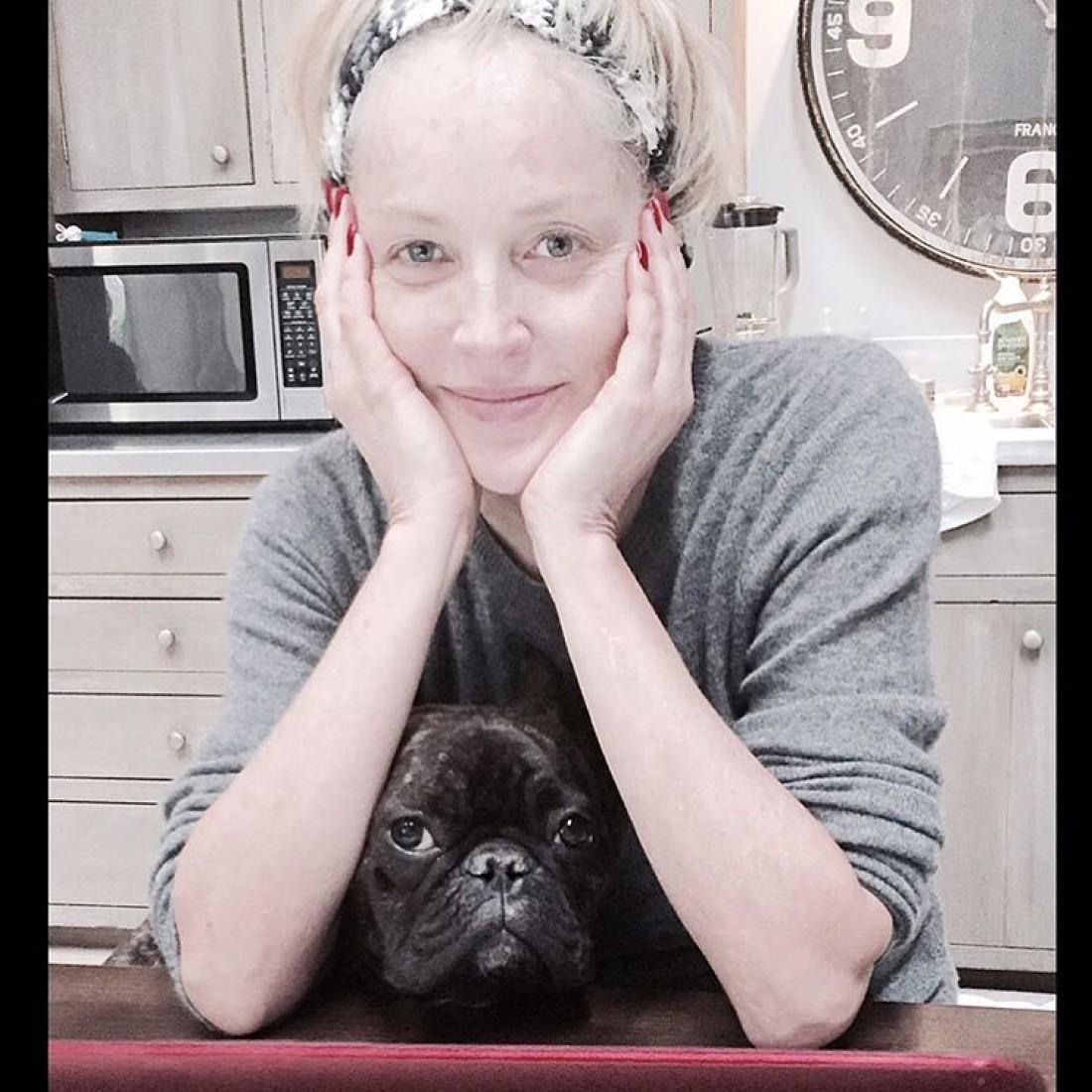 Шэрон Стоун фото без макияжа сейчас