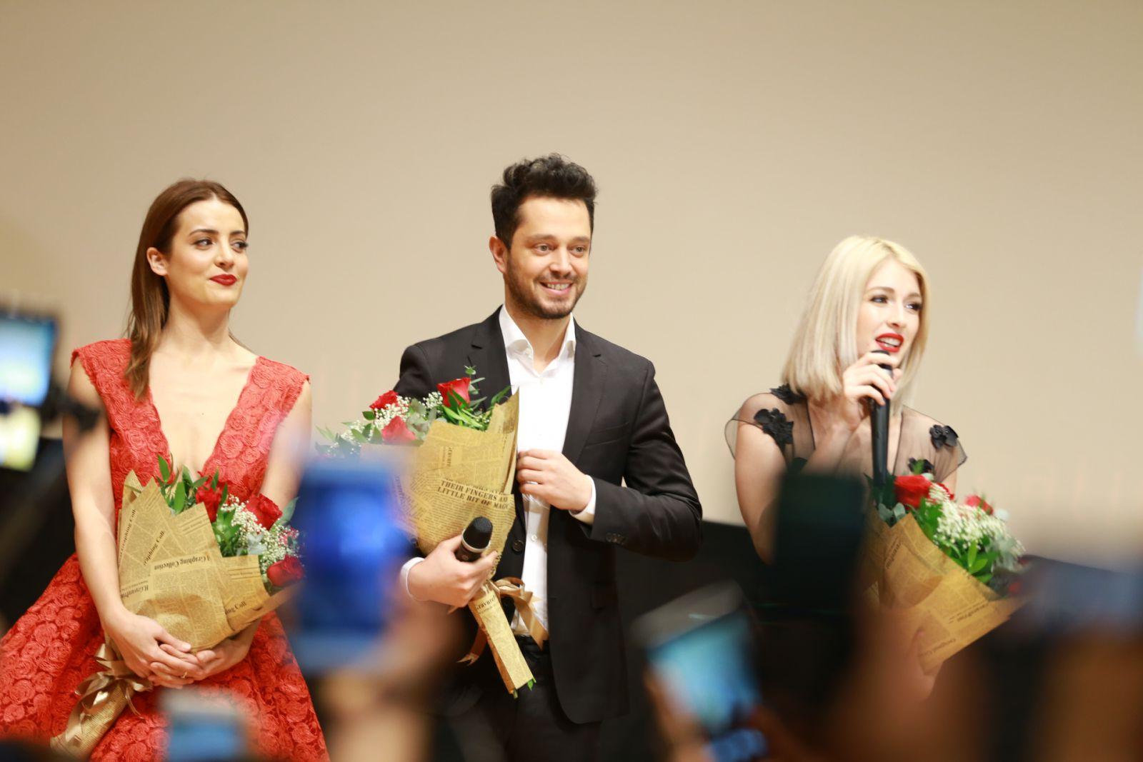 Мурат Боз принял участие на премьере фильма в Баку
