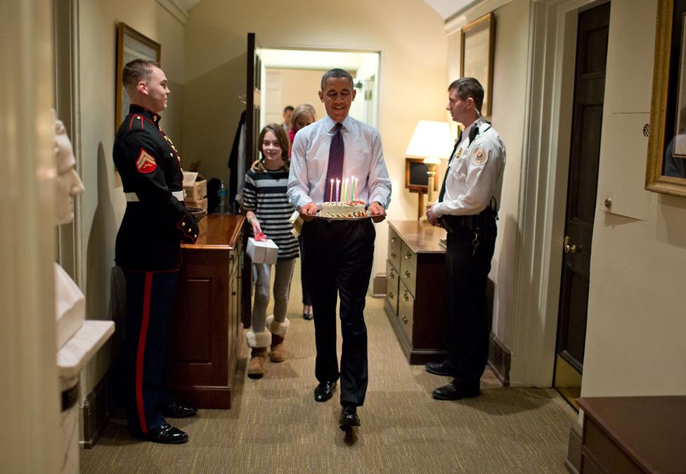 Pete Souza Barak Obama inside White House Photos