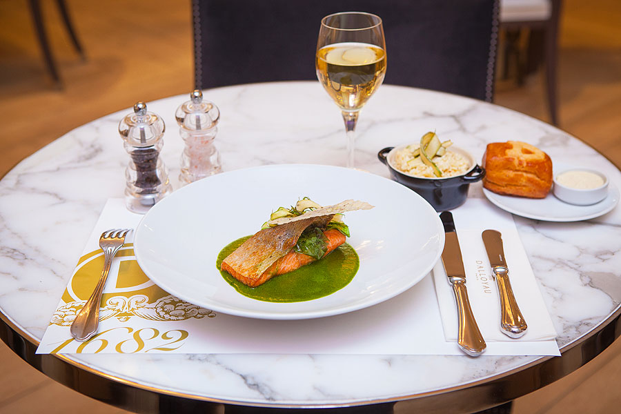 Фото блюда французских ресторанов