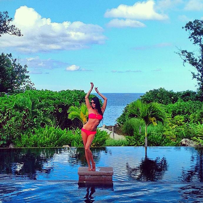 «Мисс Азербайджан 2012» на отдыхе на Сейшельских островах