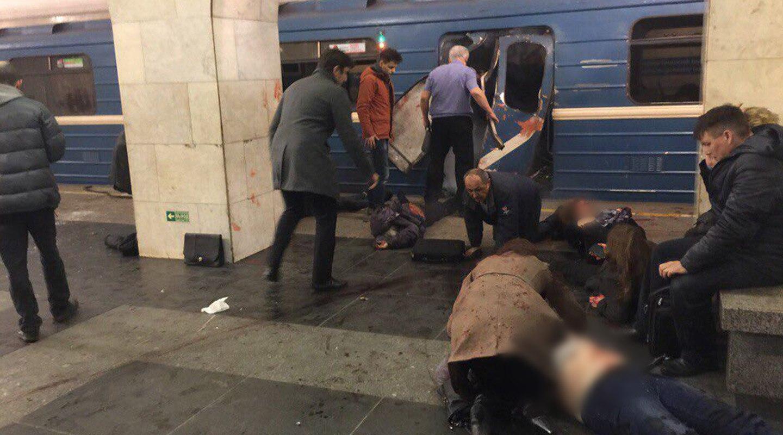 Два человека объявлены врозыск поподозрению вподготовке взрывов вПетербурге
