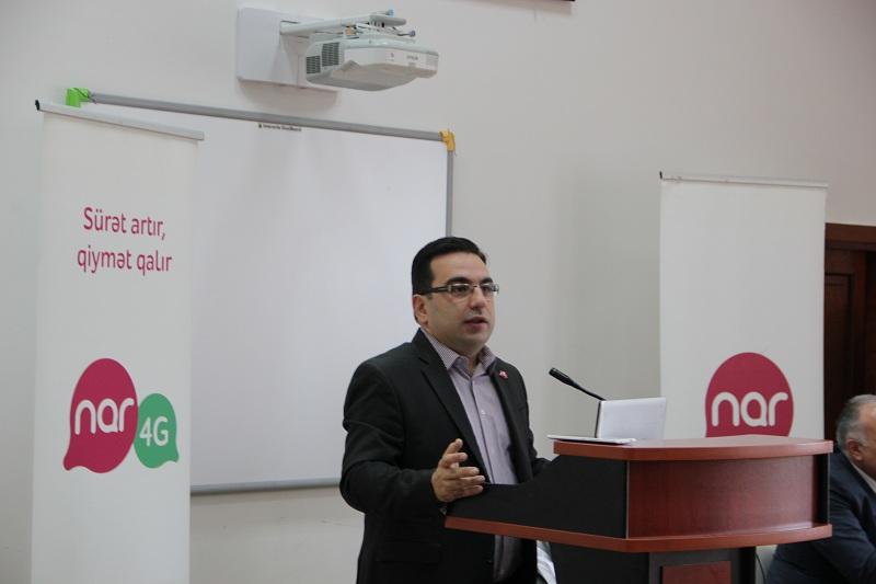 """Azərbaycan Texniki Universitetində """"Nar"""" günü keçirildi"""